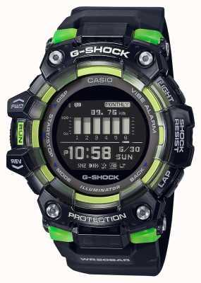 Casio G-шок | спортивная жизненная серия | черный силиконовый ремешок | черный циферблат GBD-100SM-1ER