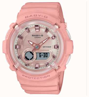 Casio Baby-g | кораллово-розовый силиконовый ремешок | BGA-280-4AER