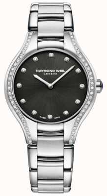 Raymond Weil Ноемия | женский браслет из нержавеющей стали | алмазный циферблат 5132-STS-20081