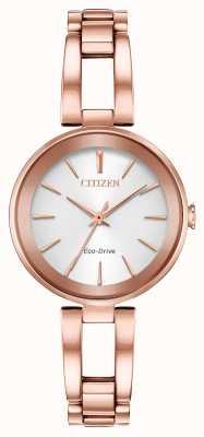 Citizen Женский браслет из розового золота eco-dive axiom EM0633-53A