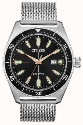 Citizen Мужская brycen eco-drive из нержавеющей стали AW1590-55E
