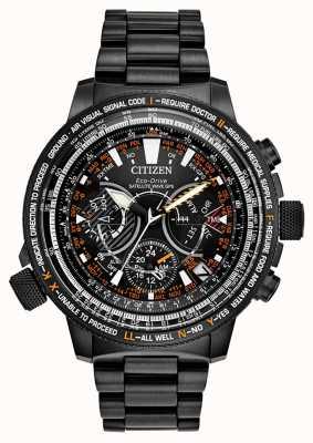 Citizen Ограниченная серия для мужчин Eco-Drive Satellite Wave GPS CC7015-55E