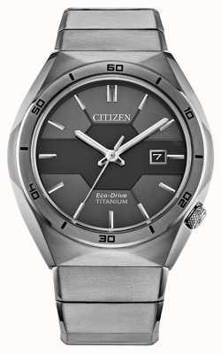 Citizen Мужская супер титановая броня eco-drive AW1660-51H