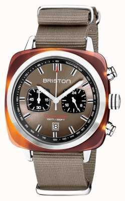 Briston | clubmaster sport | ацетат | серо-коричневый | 20142.SA.TS.30.NT