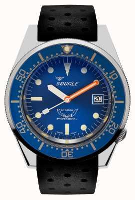 Squale Океан | автоматический | синий циферблат | черный силиконовый ремешок 1521OCN.NT-CINTRB20
