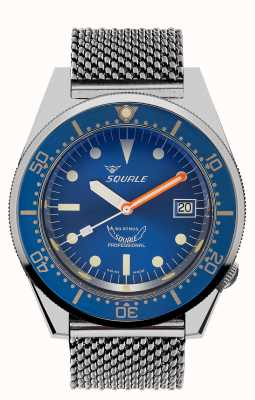Squale Океан   автоматический   синий циферблат   синий циферблат из нержавеющей стали 1521OCN.ME-CINSS20