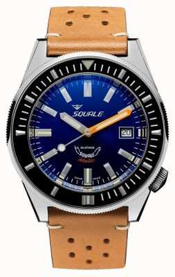 Squale Темно-синий | автоматический | синий циферблат | коричневый кожаный ремешок MATICXSB.PTC-CINU1565CM