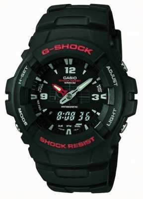 Casio G-ударный хронограф g-100-1bvmes G-100-1BVMUR