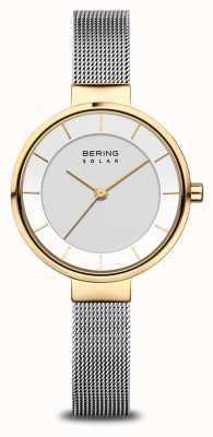 Bering Женские солнечные часы золото / серебро 14631-024