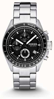 Fossil Мужские серебряные часы с хронографом CH2600IE