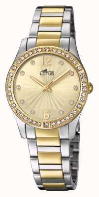 Lotus Браслет для женских часов из золота и серебра L18384/1