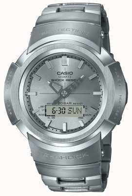 Casio G-шок | металлический браслет | контролируется радио AWM-500D-1A8ER