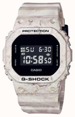 Casio G-шок | хозяйственный волнистый мрамор | цифровой дисплей DW-5600WM-5ER