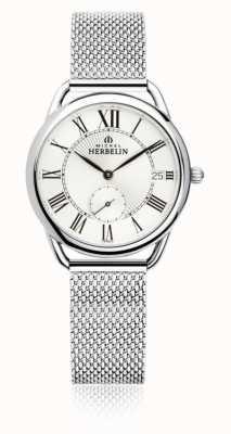 Michel Herbelin Равноденствие | серебряный циферблат | браслет из нержавеющей стали 18397/08B
