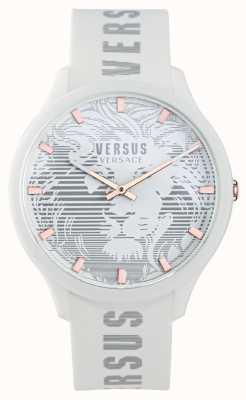 Versus Versace Мужские часы domus white с силиконовым ремешком VSP1O0421