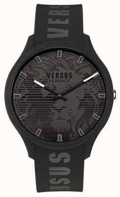 Versus Versace Мужские часы domus с черным силиконовым ремешком VSP1O0521