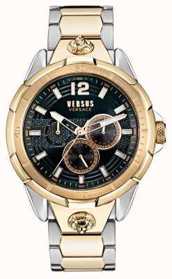 Versus Versace Мужские двухцветные часы runyon из нержавеющей стали VSP1L0421