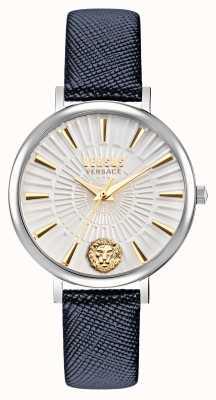 Versus Versace Женские часы с кожаным ремешком Versus Mar vista VSP1F0121