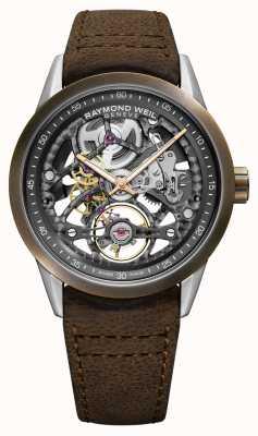 Raymond Weil Фрилансер | бронза | автоматический | коричневый кожаный ремешок 2785-SBC-60000