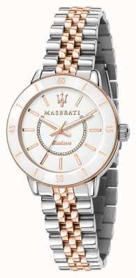 Maserati Женские наручные часы successo solar dual tone R8853145504