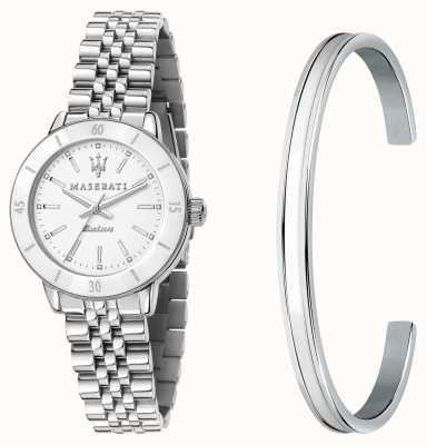 Maserati Подарочный набор наручных часов и браслета Successo solar lady R8853145507