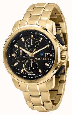 Maserati Позолоченные часы Successo solar gents R8873645002