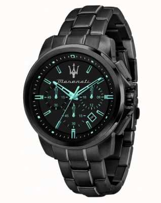 Maserati Часы Successo aqua edition с черным покрытием R8873644003