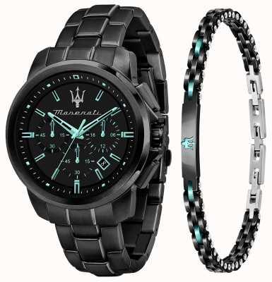 Maserati Подарочный набор мужских часов Aqua Edition с браслетом и часами R8873644004
