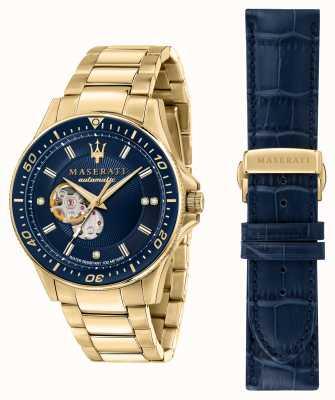 Maserati Позолоченные часы Sfida с бриллиантами R8823140004