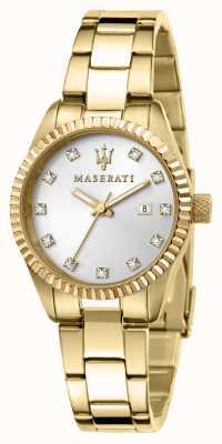 Maserati Женские позолоченные часы Compettizione R8853100506