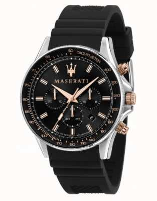 Maserati Мужские часы sfida с силиконовым ремешком R8871640002