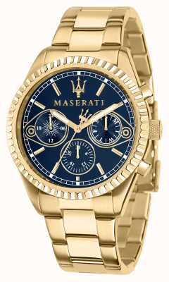 Maserati Мужские часы Competizione из желтого золота R8853100026