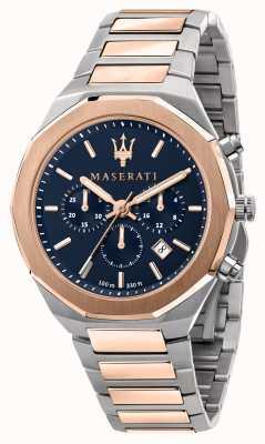 Maserati Мужские двухцветные часы Stile с хронографом R8873642002
