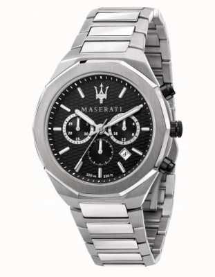 Maserati Мужские часы-хронограф из нержавеющей стали Stile R8873642004