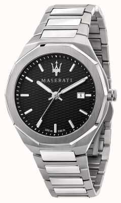 Maserati Мужские наручные часы stile 3h data с черным циферблатом R8853142003