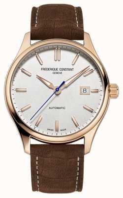 Frederique Constant Корпус Classic Index с автоподзаводом из розового золота FC-303NV5B4