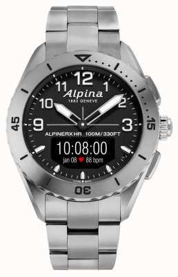 Alpina | альпинеркс жив | титановые умные часы | AL-284LBBW5TAQ1B