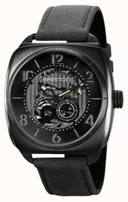 Briston Часы Clubmaster Skeleton Black с пвд 211042.SPB.SK.1.CH