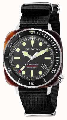 Briston Ремешок Diver Pro из ацетата черного цвета nato 21644.SA.T.1.NB