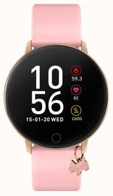 Radley Умные часы серии 5 с розовым ремешком и подвеской в виде собаки RYS05-2040