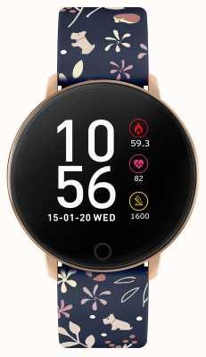 Radley Умные часы серии 5 синий ремешок с цветочным принтом RYS05-2046