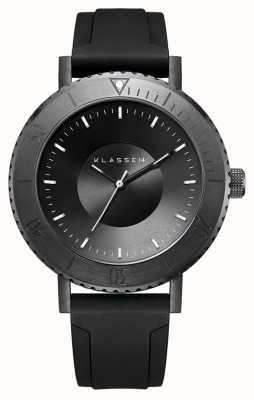 Klasse14 Volare taras dark 44 мм черный силиконовый ремешок WVT19BK001M