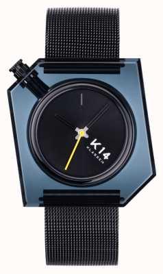 Klasse14 K14 браслет из черной миланской сетки 40 мм WKF20BK001M
