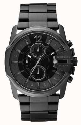Diesel Мужские все черные часы с хронографом DZ4180