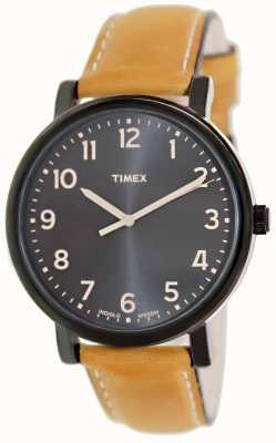 Timex Ez читатель tan ремешок классические часы T2N677